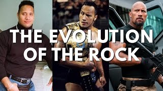 Evolution Of Dwayne 'The Rock' Johnson (thru The Fate Of The Furious & Baywatch)