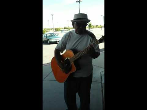 Tuti Gonzales at the Post Office in Lancaster, Calif