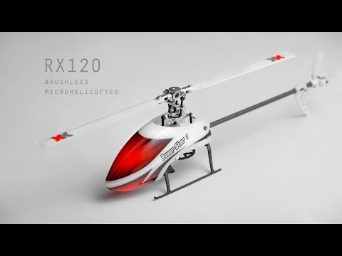 Printed helicopter RX-120. Final version.