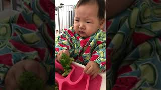 Baby Mukbang- how do you eat this?