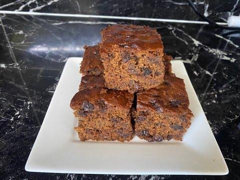 Easy Diabetes Cake/Healthy Eggless & Sugarless Fruit Cake