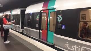 (Paris) Spot en gare D'Antony sur le RER B MI79/MI84