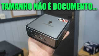 UM SUPER MINI PC COM RYZEN