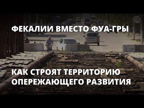 Фекалии вместо фуа-гры. Как в Петровске строят территорию опережающего развития