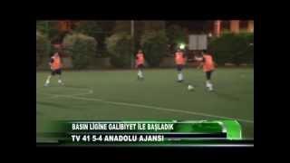 BASIN LİGİ - TV 41 5 Anadolu Ajans (AA) 4