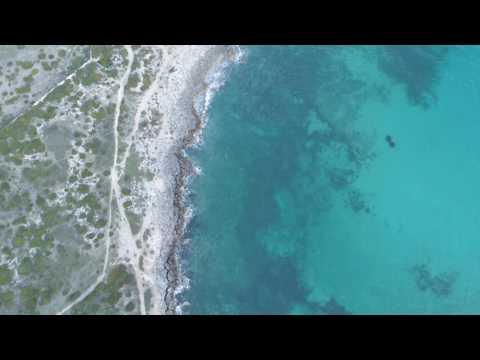 Onde blu di Taranto - Puglia - Phantom 4 Pro - 4k
