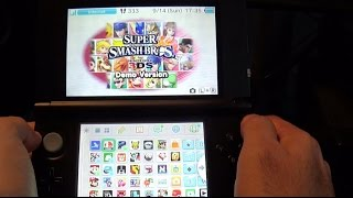 Super Smash Bros. 3DS Demo Gameplay