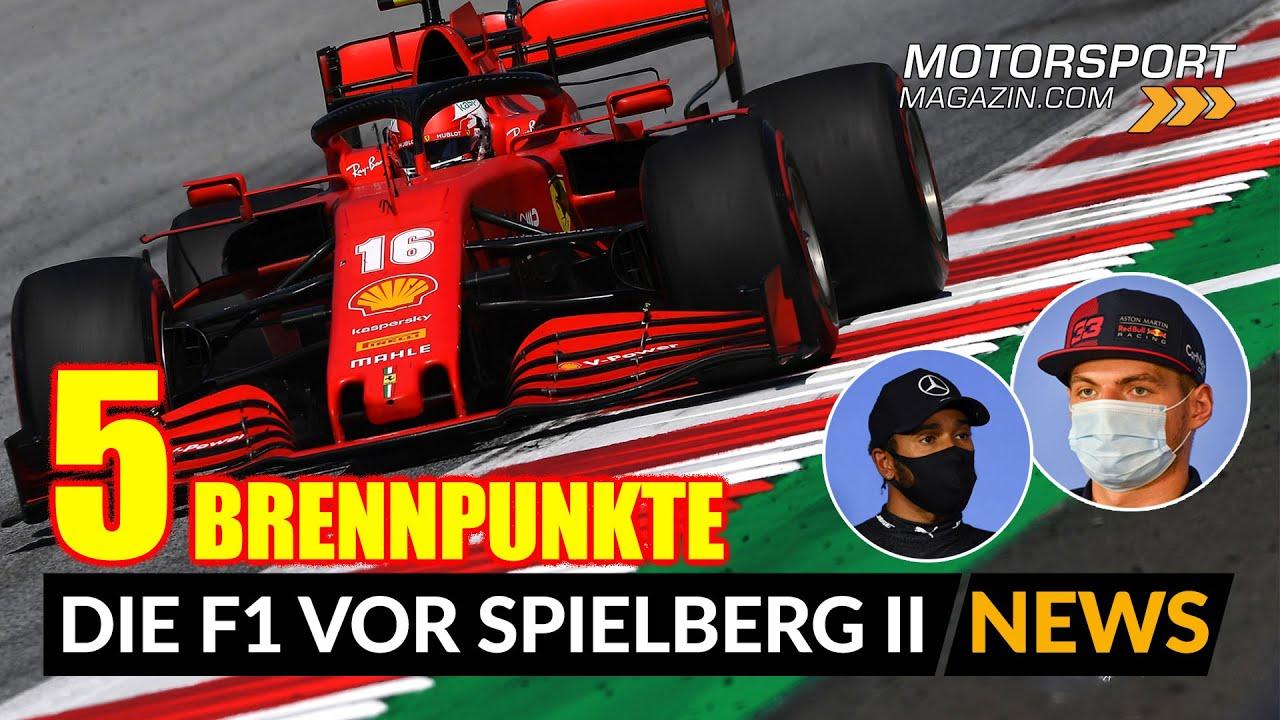Zieht Ferrari sein Upgrade auf Österreich vor?