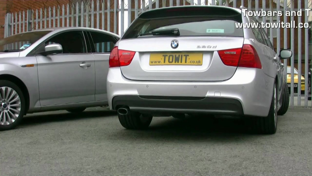 Westfalia Detachable Towbar Bmw 3 Series Youtube