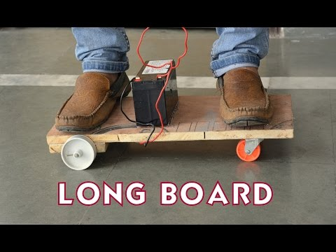 How To Make A Electric Longboard