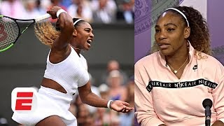 Serena Williams vows to never stop fighting for equality | 2019 Wimbledon Press Conference