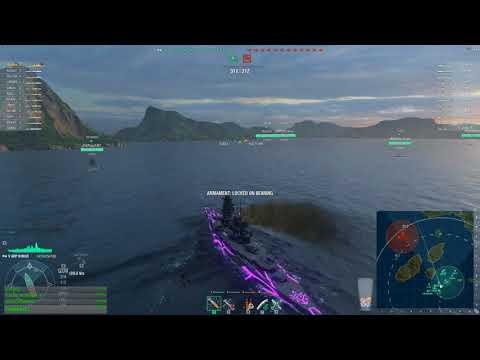 World of warships - Sunday Funday Event (Protect/ram the VIP)