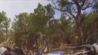 Dirt Biking Eagle Colorado Singletrack Hardscrabble Mountain GoPro YZ250