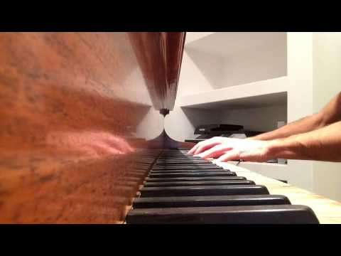 Sad Theme from 'UP' on old Piano