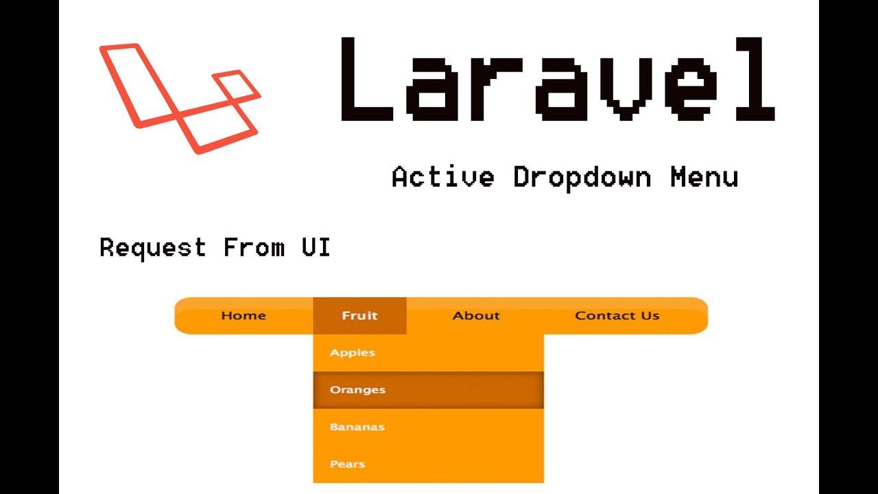 Laravel 5 Active Menu