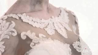 Свадебное платье А силуэт от VESILNA™ модель 3083