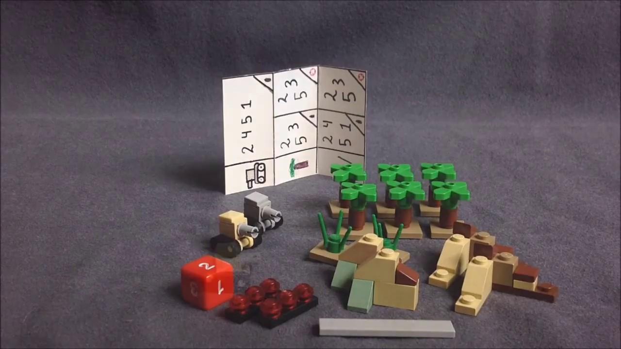 lego mini tank battle game rules ENG
