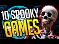 Top 10 Spooky Games on Steam