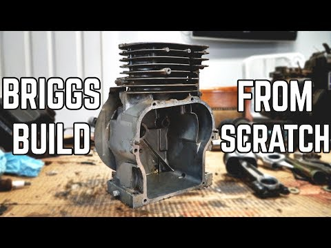 Flathead Briggs Build from Scratch | Homemade Performance Mods