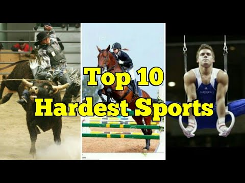 Top Ten Hardest Sports   Top 10 Dangerous Sports