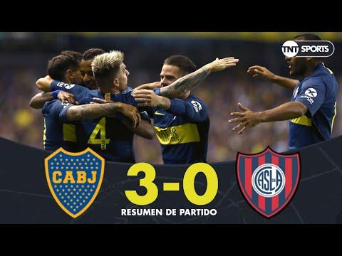 Boca ganó por goleada a San Lorenzo