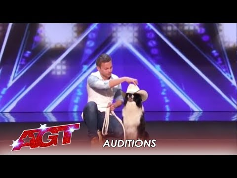 Lucas & Falco: This Dog Act Is A Story Of True LOVE | America's Got Talent 2019