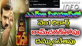 Vinaya Vidheya Rama AMB Cinemas records|Vinaya Vidheya Rama 6 days collections