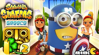 Despicable Me 2 Minion Rush Temple Run 2 Subway Surfers World Tour Greece