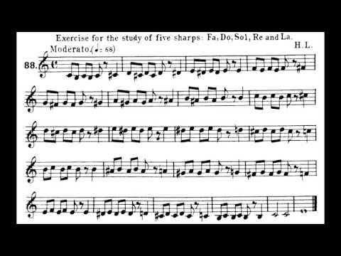 Fixed-do Solfège 17: Chromaticism (Sharps on do, re, fa, sol, and la)