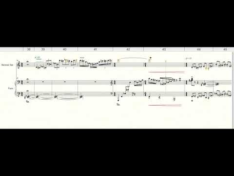 `The Great Salt Lake Desert` For Baritone Saxophone and Piano