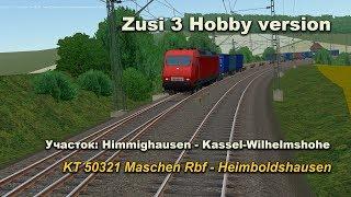 Фото Zusi 3 Hobby Version Поезд Kt 50321 Maschen Rbf - Heimboldshausen