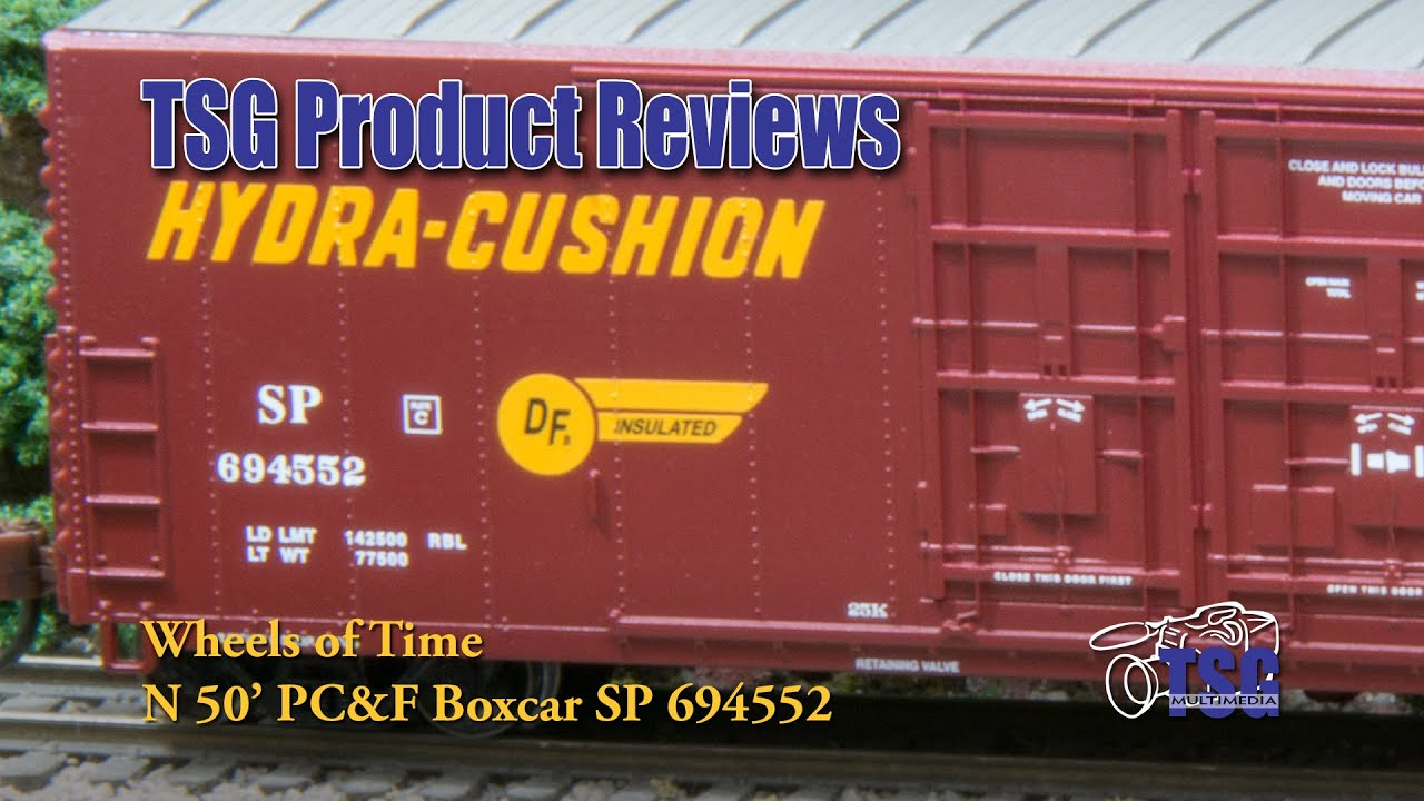 N Scale Box Car Wheels Of Time Product Review Youtube