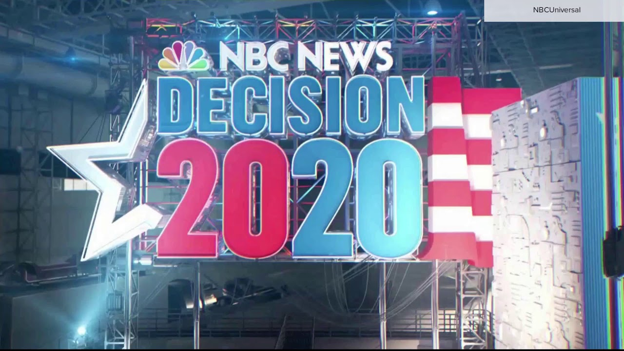 NBC News 'Decision 2020' election night open