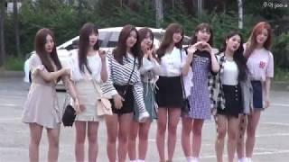 20180720 프로미스나인 FROMIS-9 뮤직뱅크 출근길