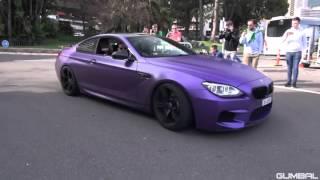 BMW M6 F13 и M6 F12 прекрасный звук!