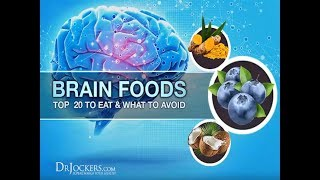 My Top 20 Brain Foods to Improve Mood and Memory