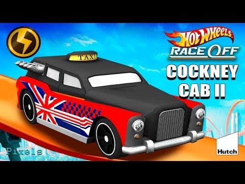 Hot Wheels Race Off - Cockney Cab II Supercharged