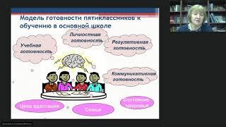 Результаты исследования готовности и адаптации учащихся 5-х классов к обучению в основной школе
