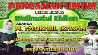 Download MADINATUR ROSUL (MR)  Lagu Syaikhona voc. Azizah