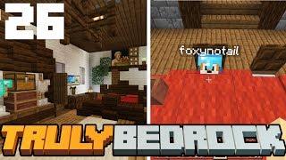Truly Bedrock - S1 E26 - Minecraft Decorating w/Foxynotail! - Minecraft SMP