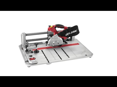 Unboxing SKIL FLOOR SAW and how to attached to RIDGID VACUUM!!
