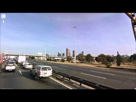 Johannesburg High-Speed Drive-By (Stop-Frame Animation)