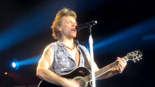 Bon Jovi - WANTED DEAD OR ALIVE - Lubbock, Texas - United Spirit Arena - 3/17/2013