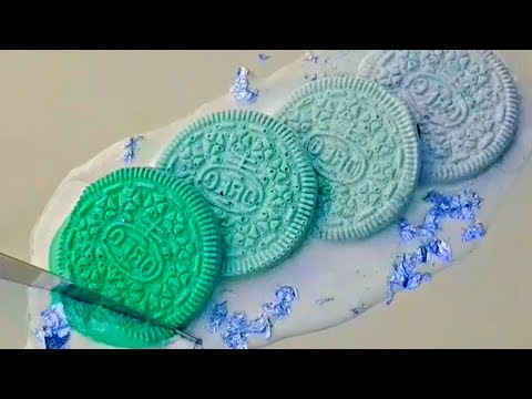 MIXING FROZEN PAINT: [Oreo Edition] - Satisfying ASMR - Relax Your mind [Part 8]