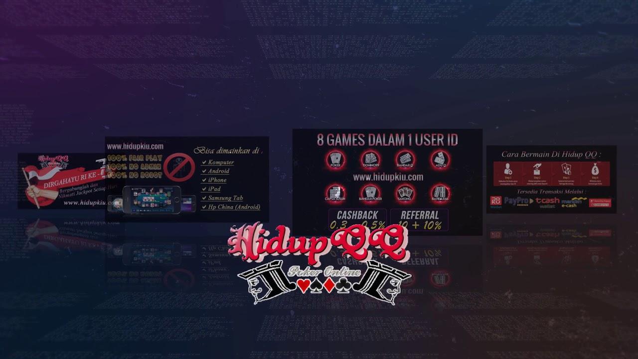 Hidupqq Com Adalah Dominobet Asianbandar Pokerqiu Gaple Online Youtube