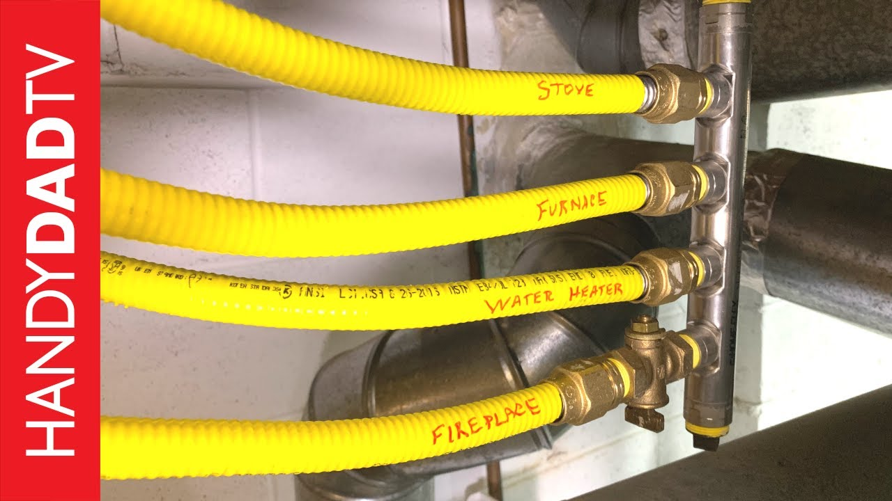 Running Gas Line To Fireplace Diy Fireplace Installation Natural Gas Line
