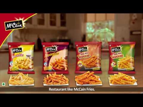 McCain New Crazy Fries Masala Mix
