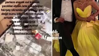 Gülşah Saraçoğlu Eski Sevgilisinin Evini Dağıttı!
