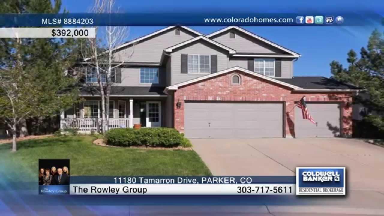11180 tamarron drive parker co homes for sale