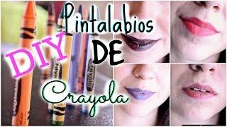 DIY: PINTALABIOS/LIPSTICK DE CRAYOLA ♥ .Priscila Thumbnail